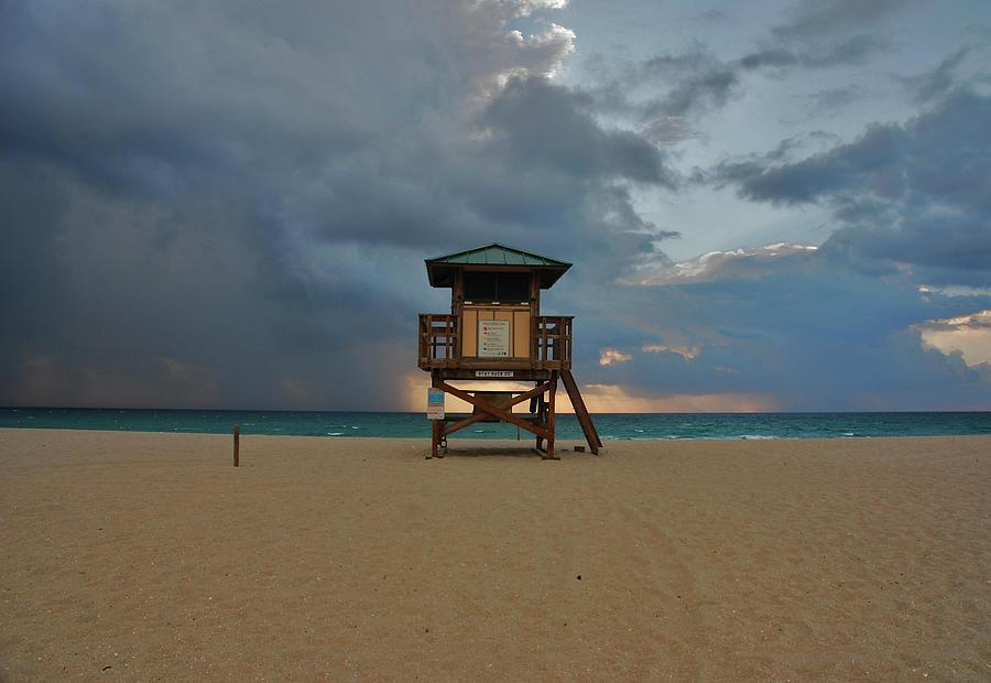 Ocean Photograph - 26- Storm Front by Joseph Keane