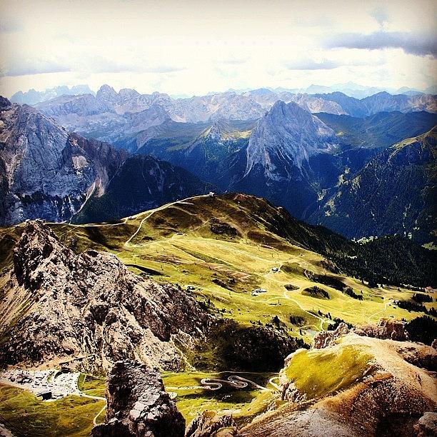 Scenery Photograph - Dolomites by Luisa Azzolini