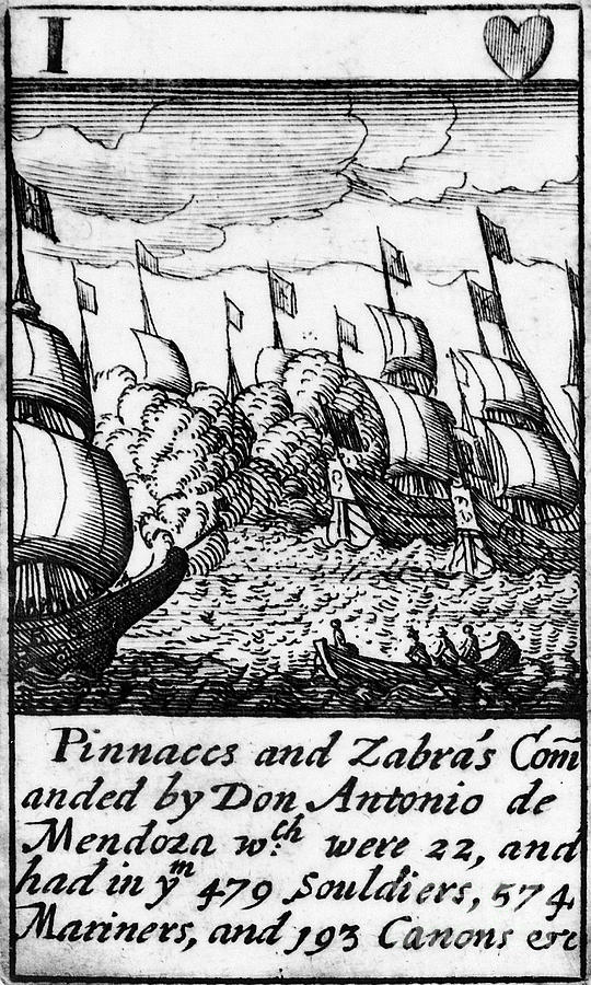1588 Photograph - Spanish Armada, 1588 by Granger