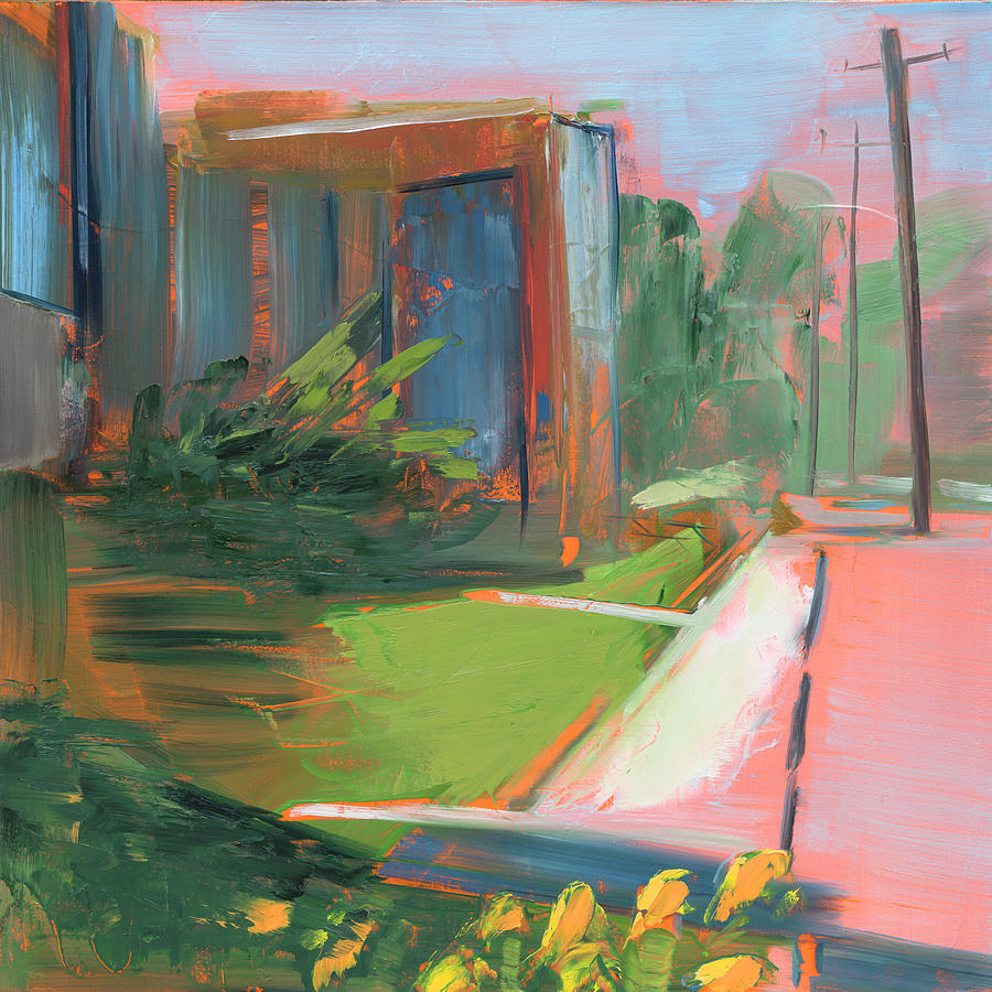 Library Painting - Rcnpaintings.com by Chris N Rohrbach
