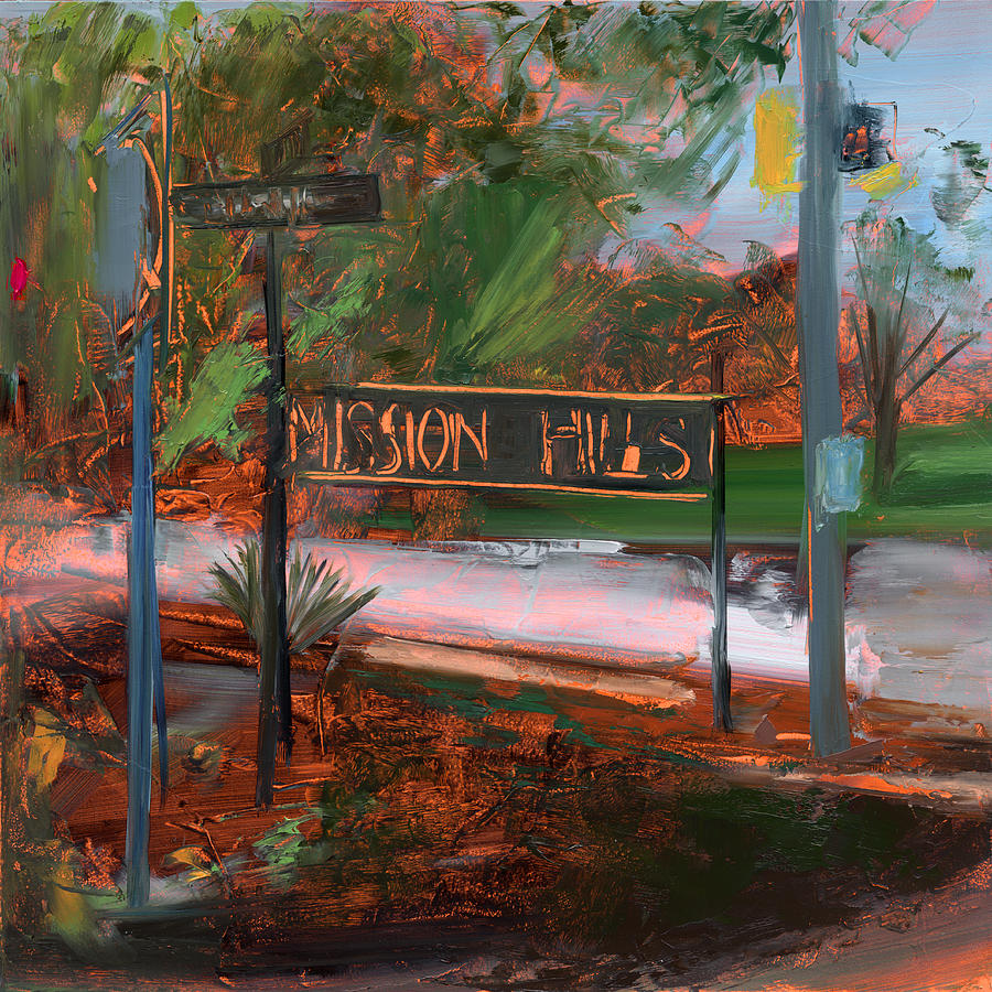 South Hills Painting - Rcnpaintings.com by Chris N Rohrbach