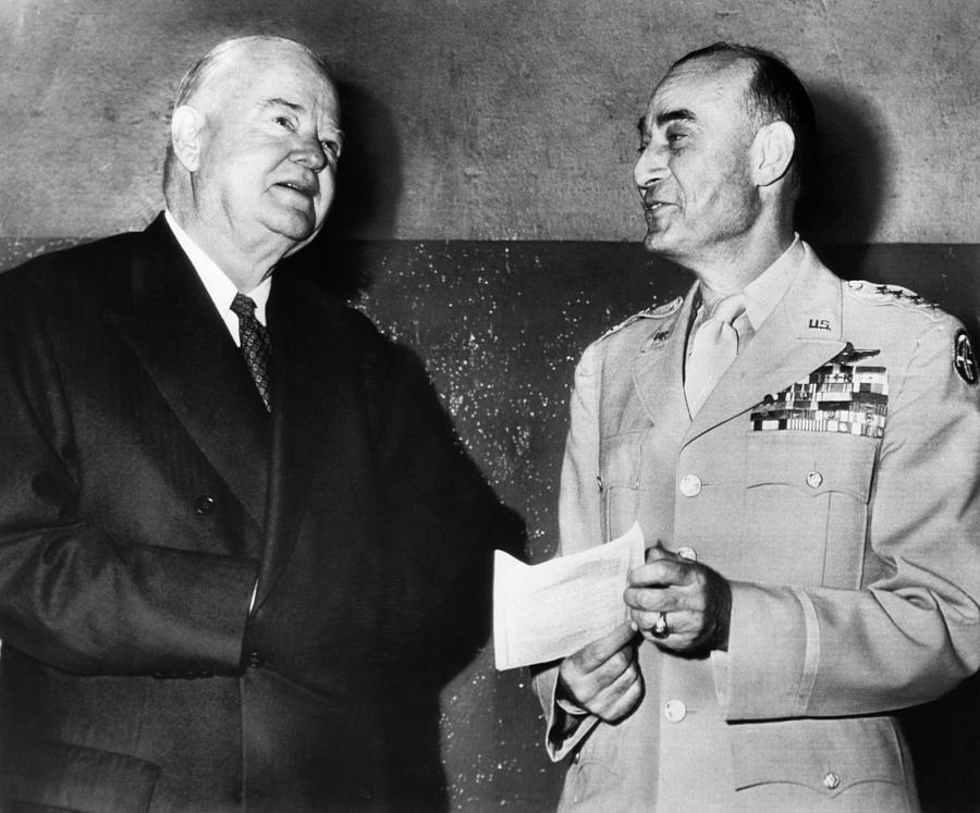 20th Century Photograph - Former President Herbert Hoover by Everett