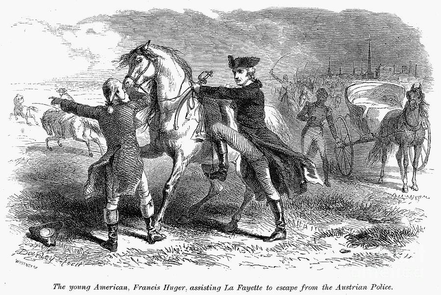 1794 Photograph - Marquis De Lafayette by Granger