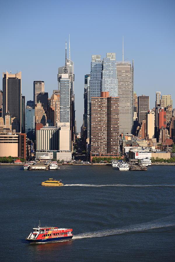 America Photograph - New York City Skyline by Frank Romeo