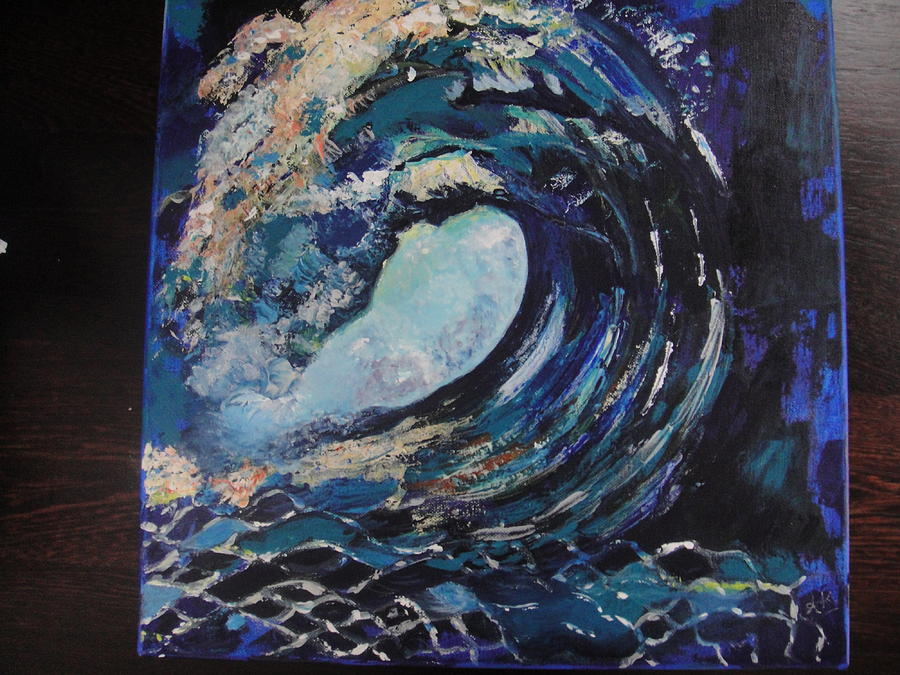 2nd Wave Painting by Alka Kapoor