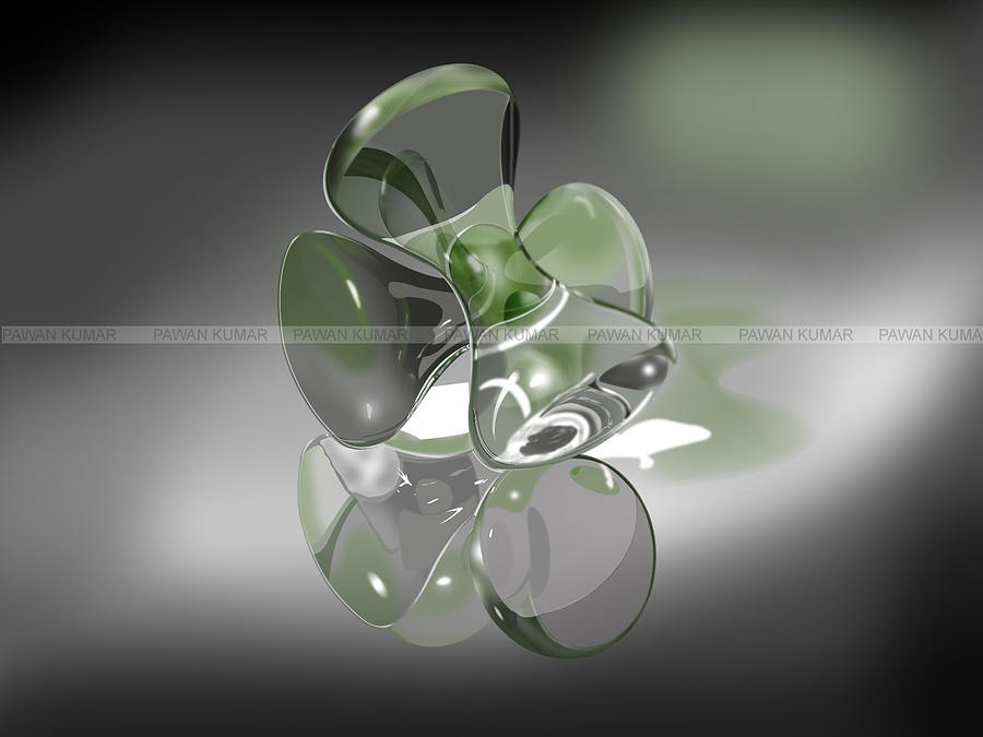 Modeling Glass Art - 3d by Pawan Sharma