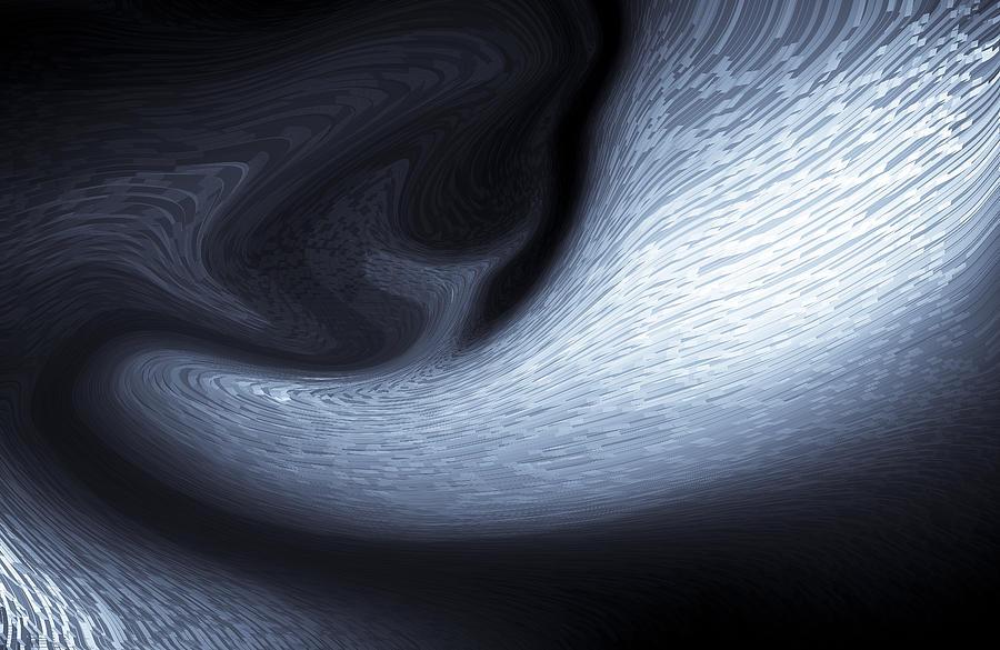 Digital Digital Art - Abstract 3d Art by David Pyatt
