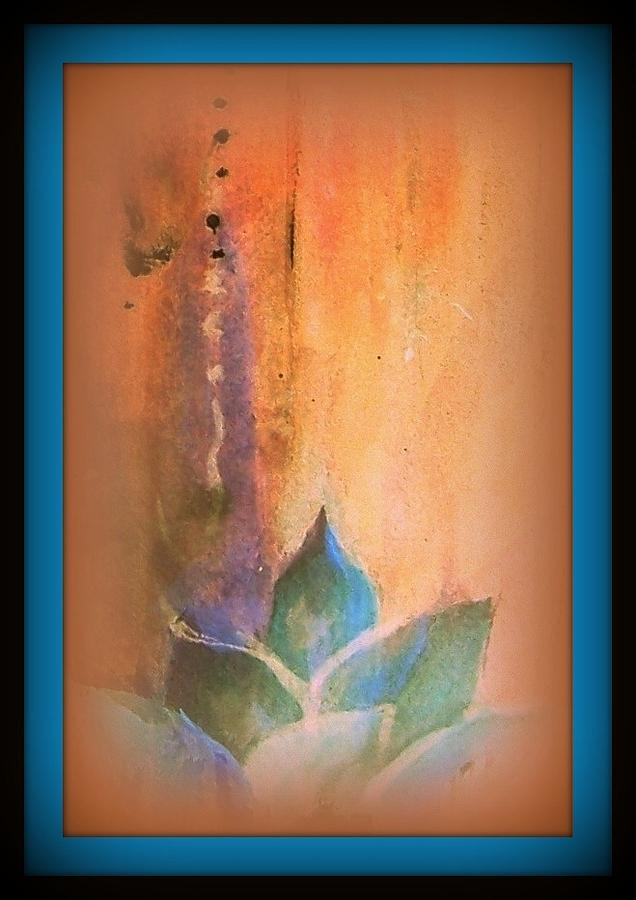 Lotus Painting - Ancient Lotus by Wendy Wiese