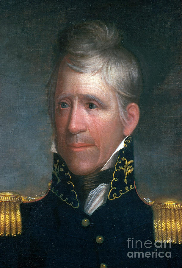 History Photograph - Andrew Jackson, 7th American President by Photo Researchers