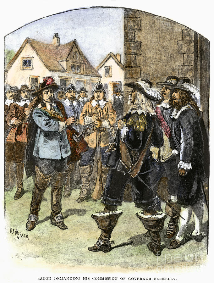 bacon rebellion There was not one single factor that led to bacon's rebellion in 1676 but instead a combination of a lot of factors the revolt of virginia farmers against governor.