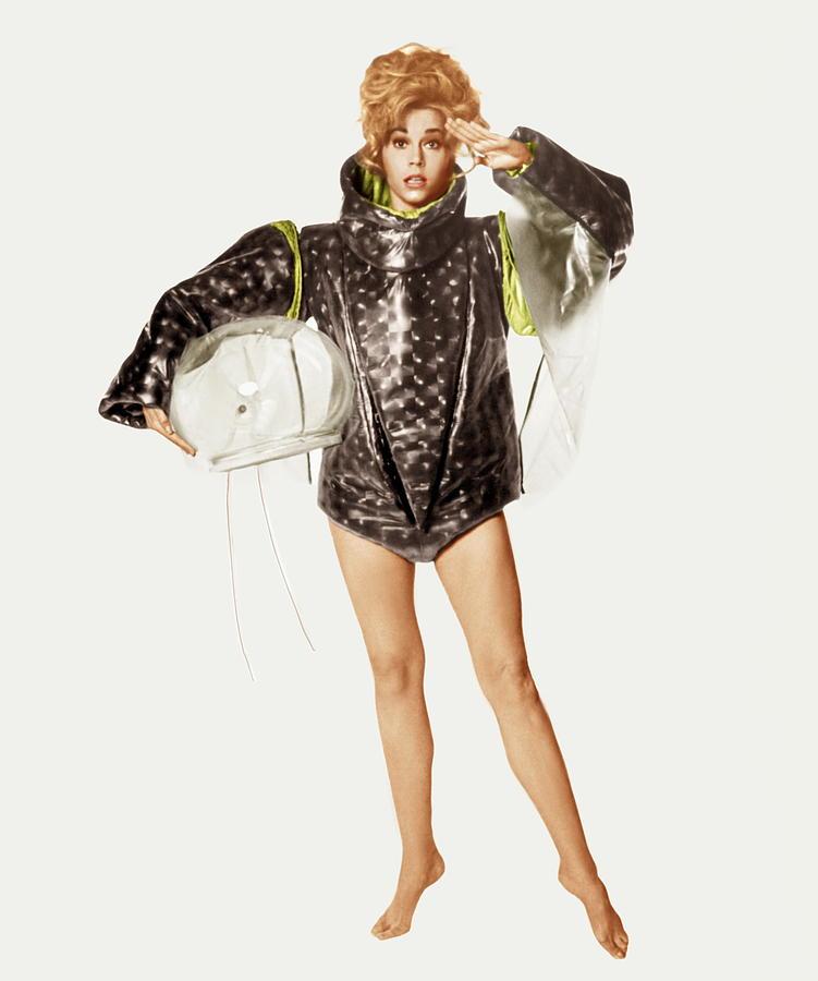 1960s Portraits Photograph - Barbarella, Jane Fonda, 1968 by Everett