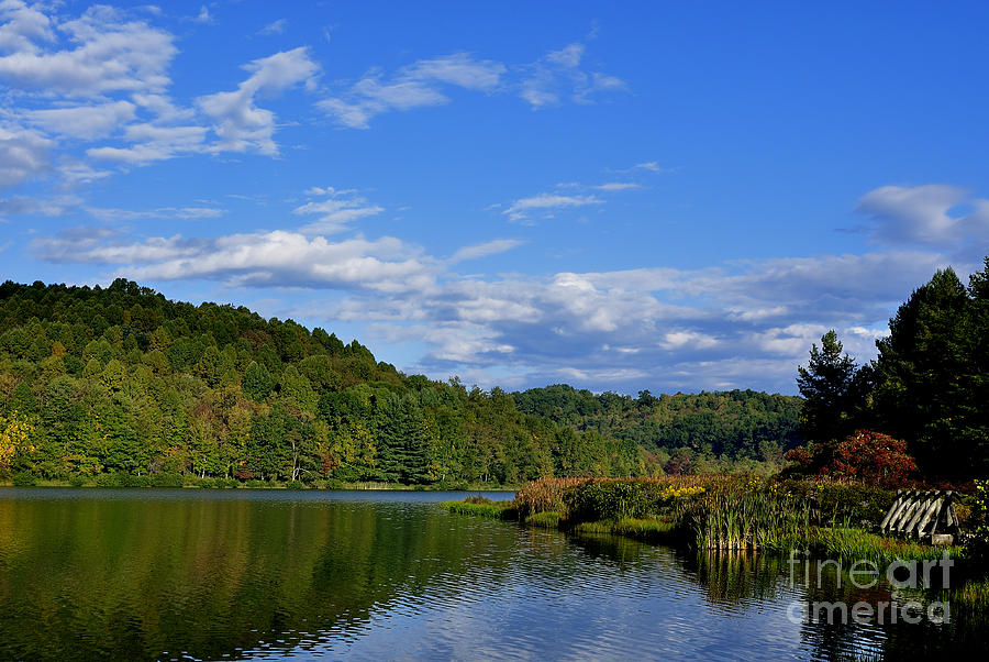 West Virginia Photograph - Big Ditch Lake by Thomas R Fletcher