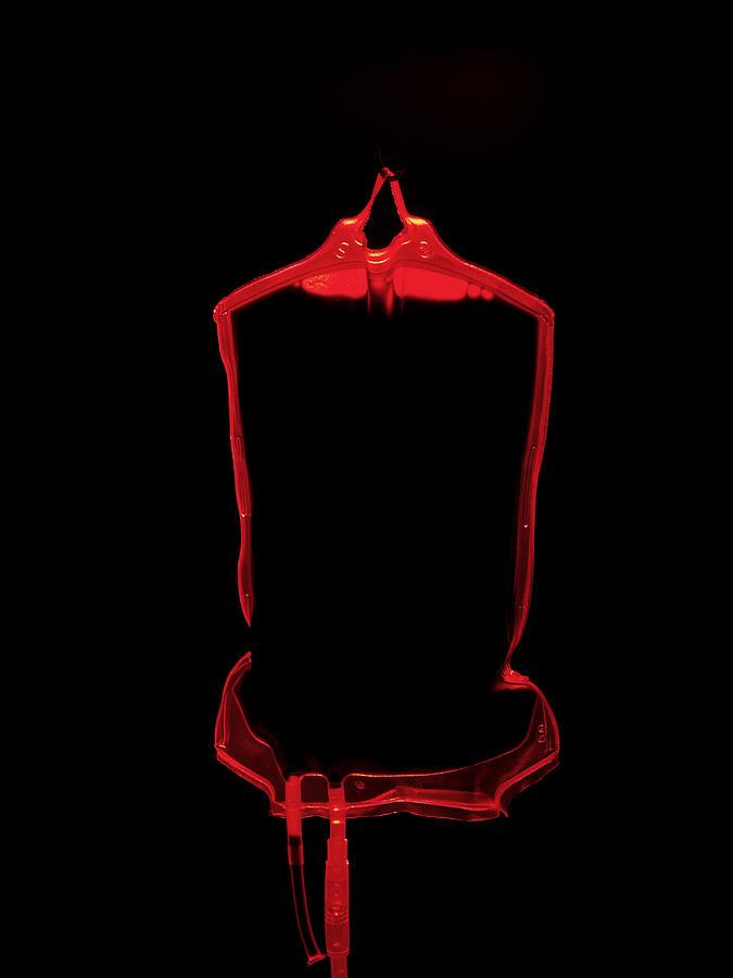 Equipment Photograph - Blood Bag by Tek Image
