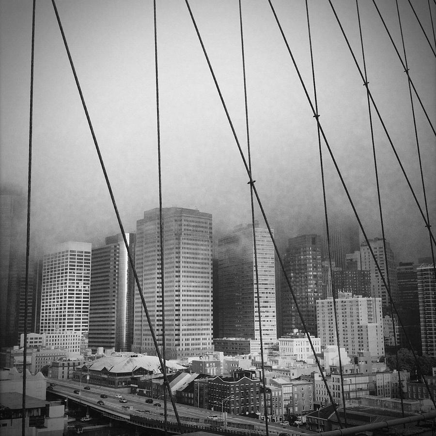 Architecture Photograph - Brooklyn Bridge by Eli Maier