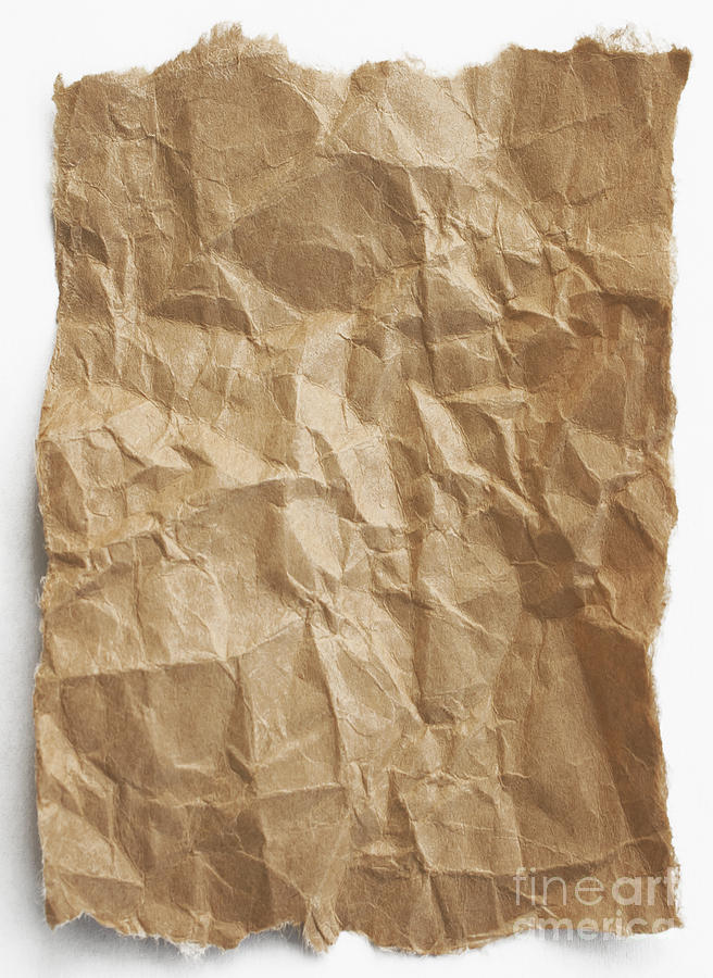 Paper Photograph - Brown Paper by Blink Images