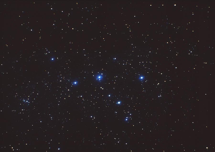 Stars Photograph - Cassiopeia Constellation by John Sanford