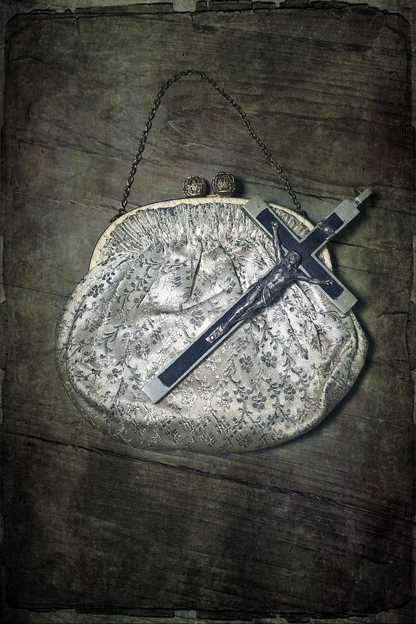 Pocket Photograph - Crucifix by Joana Kruse