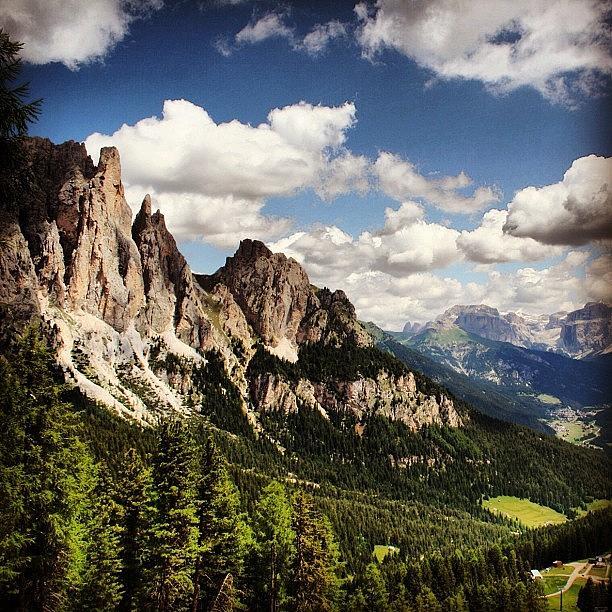 Mountain Photograph - Dolomites by Luisa Azzolini