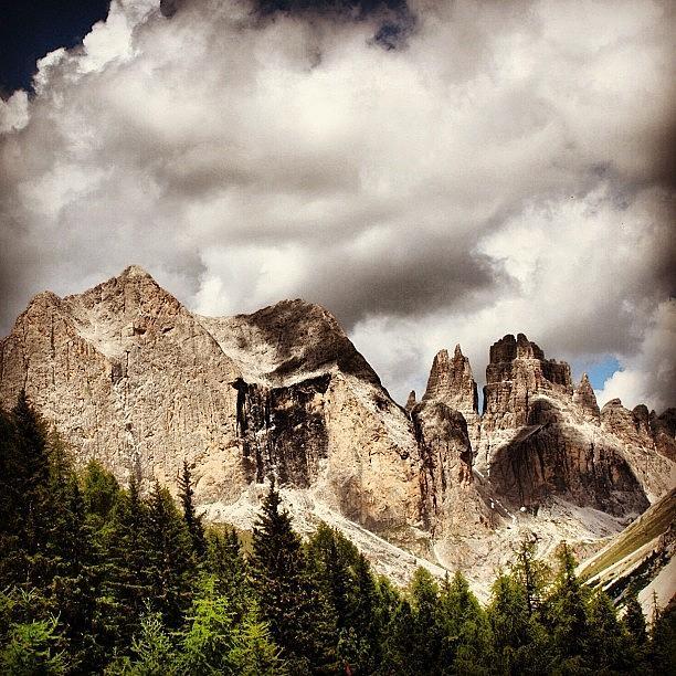Mountains Photograph - Dolomiti by Luisa Azzolini