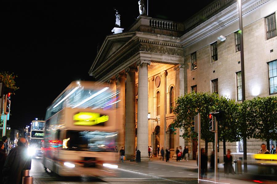 Cream Photograph - Dublin General Post Office by Josh Whalen