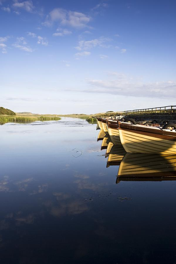 Boat Photograph - Dunfanaghy, County Donegal, Ireland by Peter McCabe