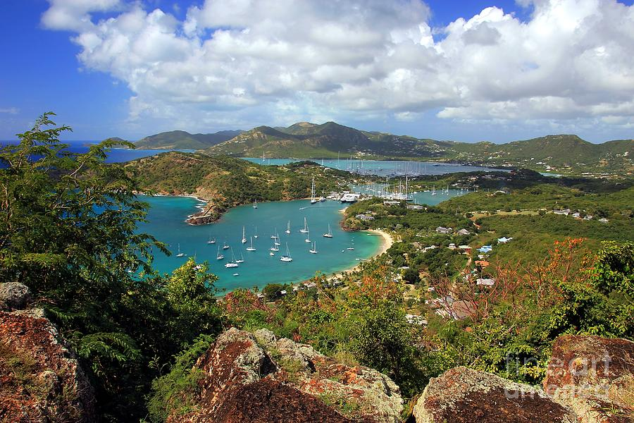 English Harbor Photograph - English Harbor Antigua by Sophie Vigneault