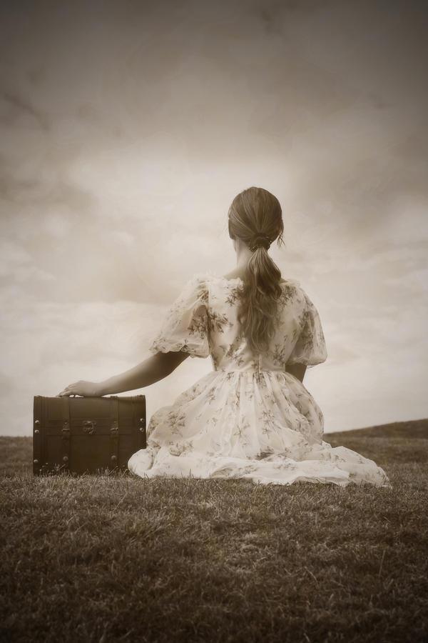 Female Photograph - Farewell by Joana Kruse