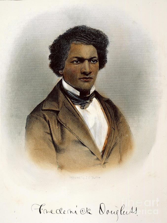 1854 Photograph - Frederick Douglass by Granger