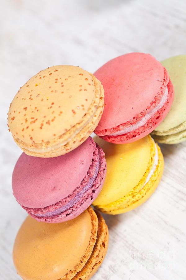 Macarons Photograph - French Macarons by Sabino Parente