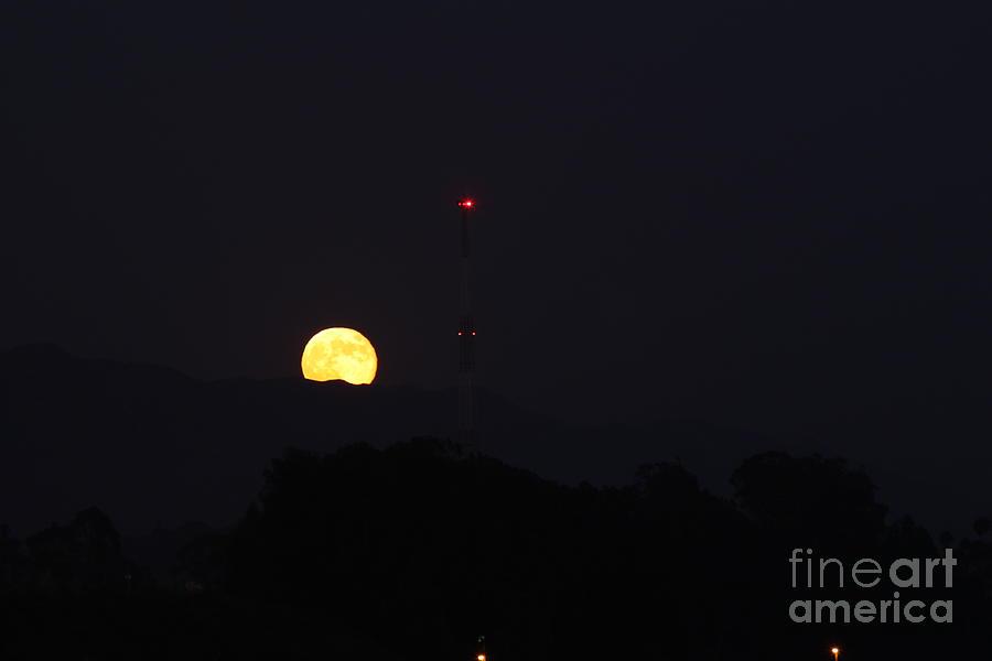 Full Moon Rise Photograph
