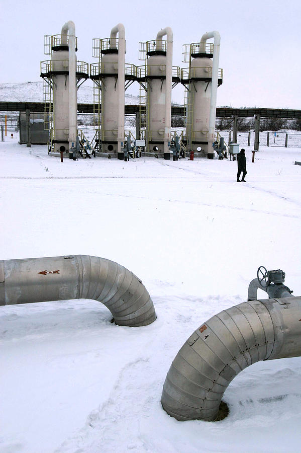 Building Photograph - Gas Fuel Compressor Plant by Ria Novosti