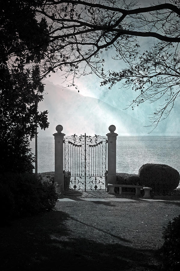 Gate Photograph - Gateway To The Lake by Joana Kruse