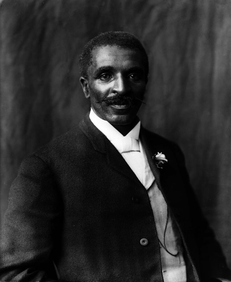 Historical Photograph - George Washington Carver 1864-1943 by Everett