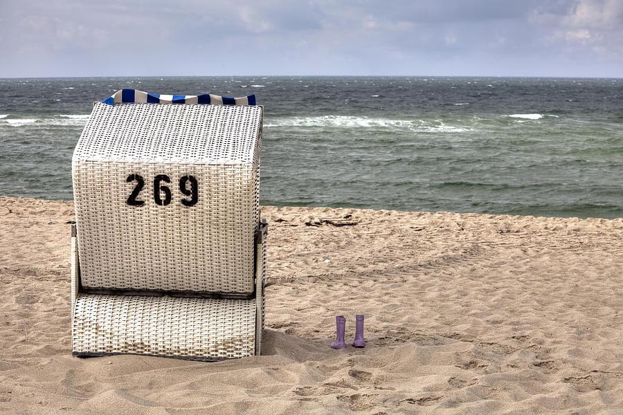 Beach Chair Photograph - Hoernum - Sylt by Joana Kruse