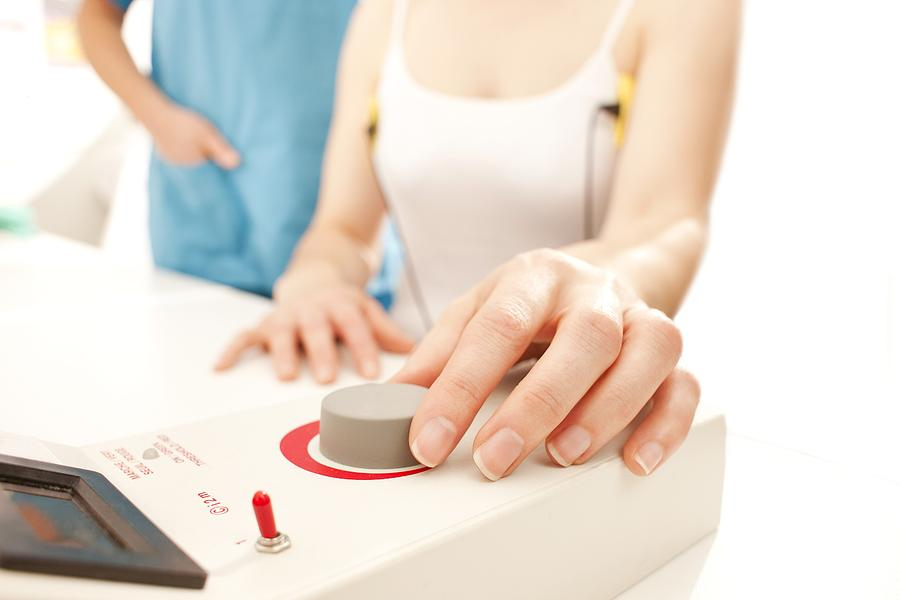 White Background Photograph - Iontophoresis For Excess Sweating by