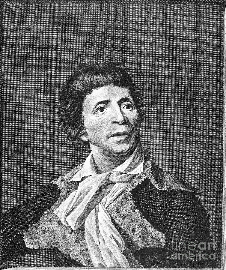 18th Century Photograph - Jean-paul Marat (1743-1793) by Granger