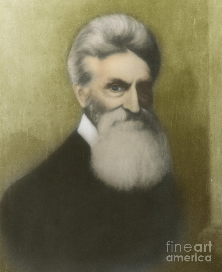 John Brown Photograph - John Brown, American Abolitionist by Photo Researchers