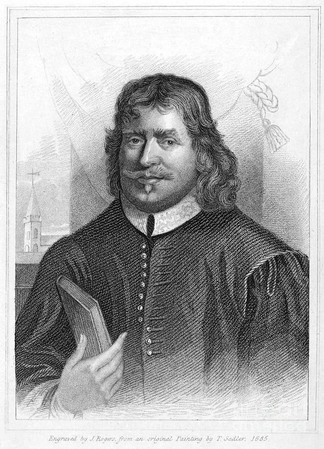 1684 Photograph - John Bunyan (1628-1688) by Granger