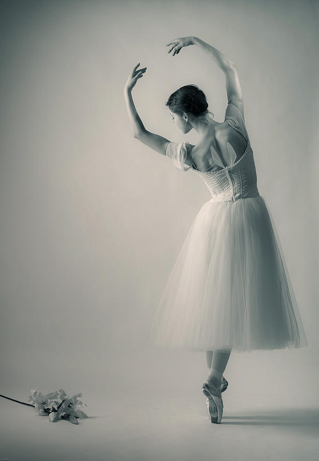 Giselle Photograph - La Giselle by Nikolay Krusser