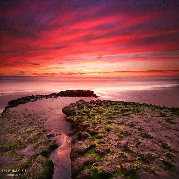 Long Exposure Sunset At A North San Photograph by Larry Marshall