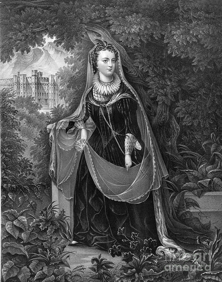 History Photograph - Mary Queen Of Scots by Photo Researchers