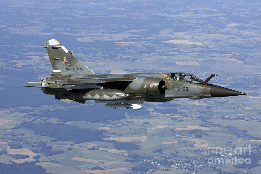 France Photograph - Mirage F1cr Of The French Air Force by Gert Kromhout