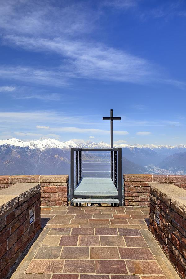 Chapel Photograph - Monte Tamaro by Joana Kruse