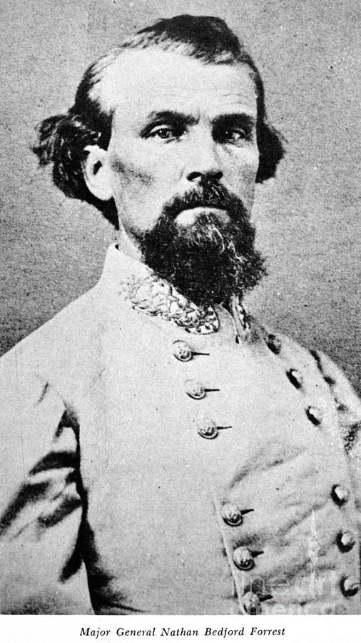 1864 Photograph - Nathan Bedford Forrest by Granger