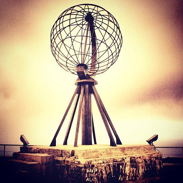 Outdoor Photograph - Nordkapp by Luisa Azzolini