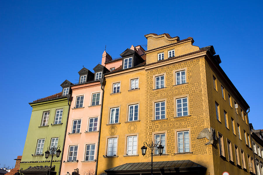 Town Photograph - Old Town In Warsaw by Artur Bogacki
