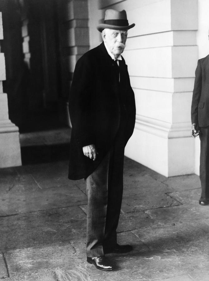 1930s Candid Photograph - Oliver Wendell Holmes, Jr. 1841-1935 by Everett