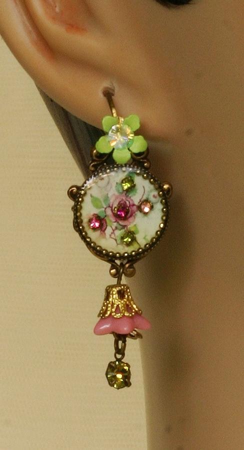 Jewelry Jewelry - Orly Zeelon The Cameo Tinker Bell Earrings by Orly Zeelon
