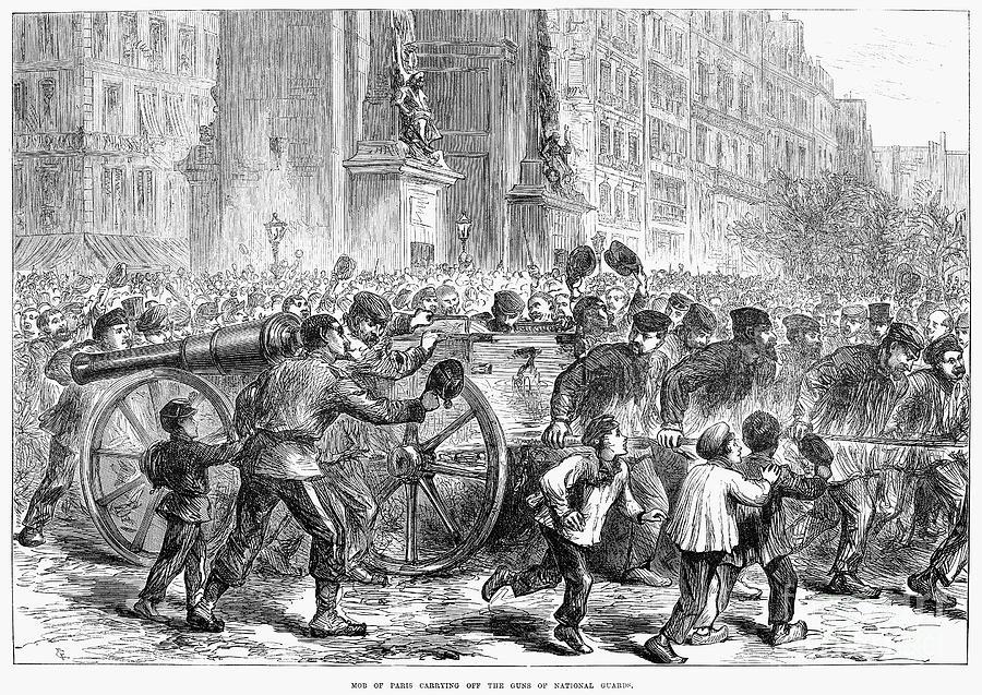 Paris Commune 1871 Photograph By Granger