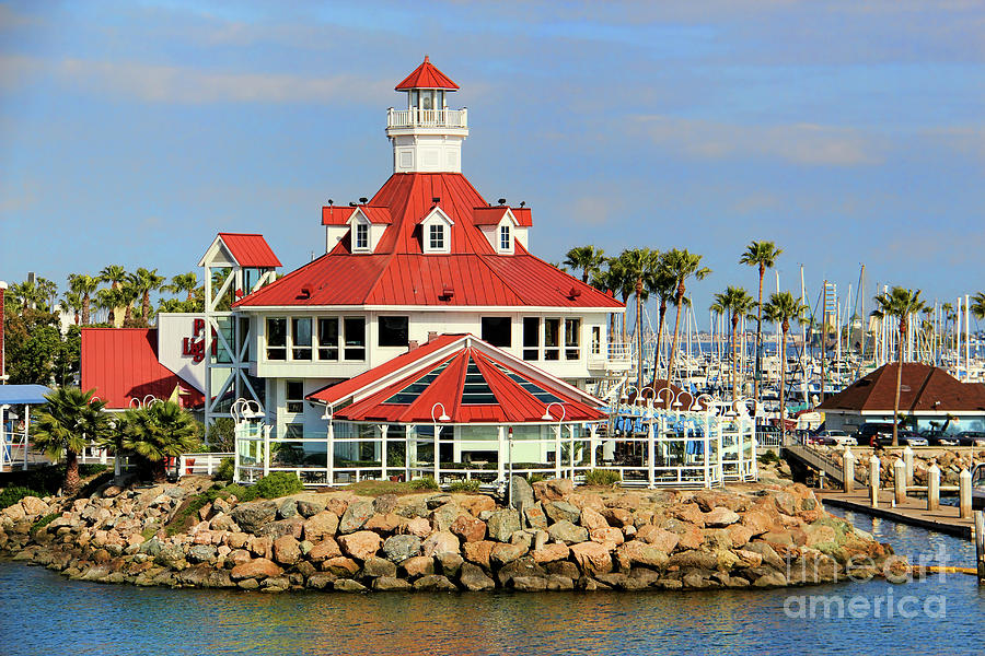 Parkers Lighthouse Restaurant Photograph By Mariola Bitner
